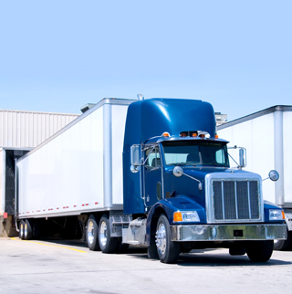 loading truck image