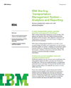 IBM Sterling Transportation Management System – Analytics and Reporting