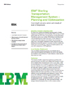 IBM Sterling Transportation Management System – Planning and Optimization