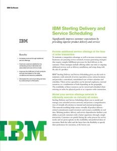 IBM Sterling Delivery