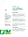 IBM Sterling Order Management