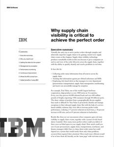 IBM Sterling WMS