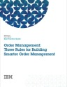 Three Rules Order Management