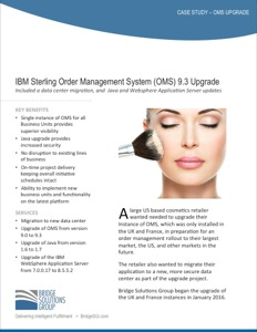 IBM Sterling OMS Upgrade 9.3