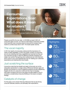 IBM Consumer Expectations Study 2016