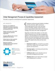 Distributed Order Management Assessment