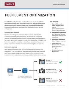 Celect Fulfillment Optimization