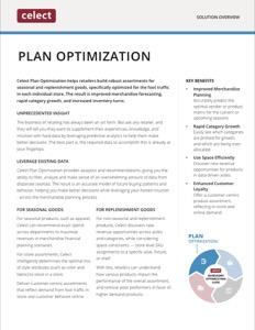 Celect Plan Optimization